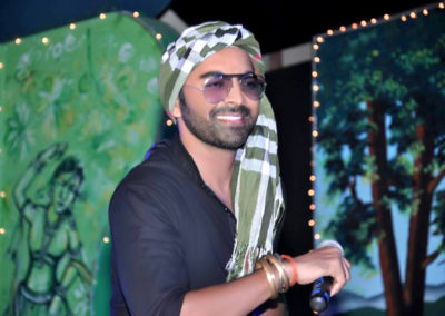 Bollywood Actor Lokesh Tilakdhari in a cultural Programe in Moradabad