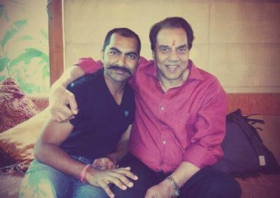 Lokesh Tilakdhari with He-man