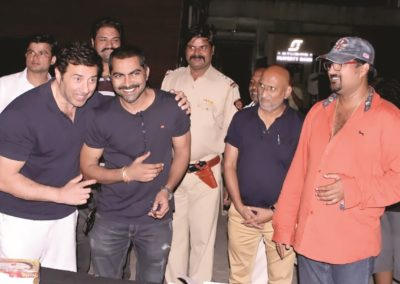 Sunny Deol celebrating Lokesh Tilakdhari Birthday
