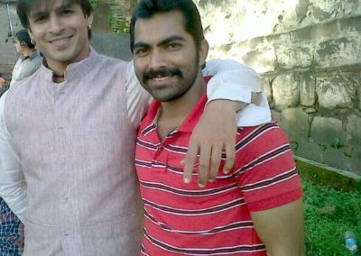 Vivek Oberoi with Lokesh Tilakdhari