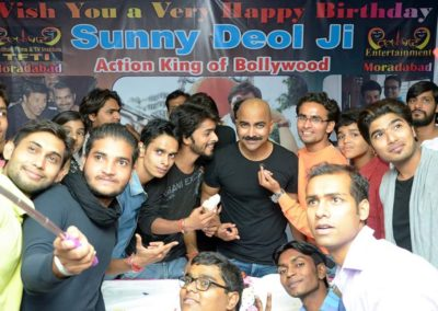 Sunny Deol Birthday Celebration at TFTI Moradabad